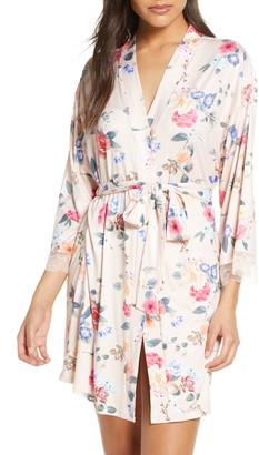 Flora Nikrooz Fiona Butter Knit Short Robe