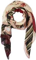 Vince Camuto Print Clash Square Scarf Scarves