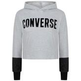 Converse ConverseGrey Lurex Sweatshirt