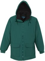 Tri-Mountain Men's 9900 Woodsman Hooded Jacket, Peacock Blue, M