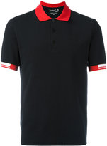 Fred Perry tipped cuff polo shirt - men - Cotton - 42