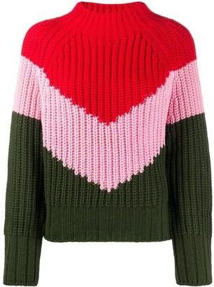 Essentiel Antwerp Bold Stripe Knit Jumper