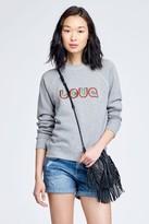 Rebecca Minkoff Classic Crew Sweatshirt Love