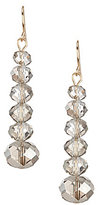 Natasha Accessories Beaded Linear Drop Earrings