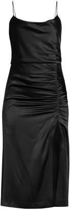Alice + Olivia Dion Ruched Slip Dress