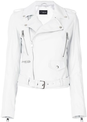 Manokhi Off-Center Zip Fastening Jacket