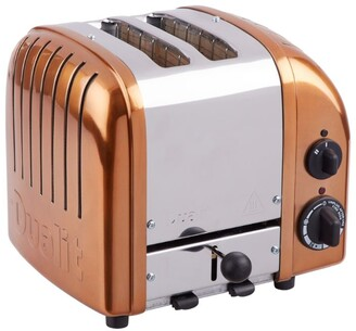 Dualit CLASSIC 2 SLOT TOASTER COPPER