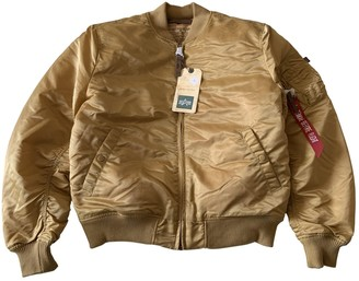 Alpha Industries Gold Synthetic Jackets
