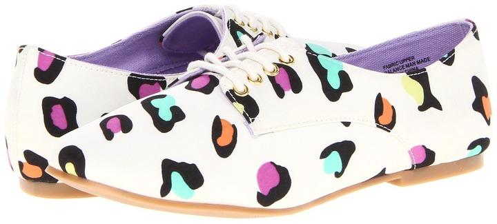 BC Footwear Know It All (White Leopard Print) - Footwear