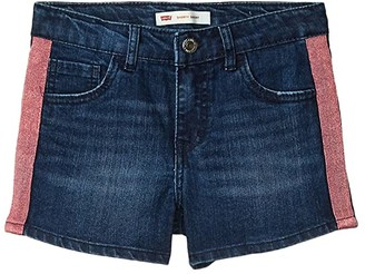 Levi's(r) Kids Denim Shorty Shorts (Big Kid) (Waltz) Girl's Clothing