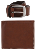 George Gift Box Wallet and Belt Set