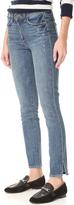 Paige Hoxton Ankle Peg Side Slit Jeans