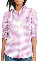 Polo Ralph Lauren Custom-Fit Cotton Poplin Shirt