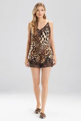 Natori Luxe Leopard Cami Tap PJ