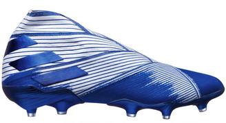 adidas Nemeziz 19+ Football Boots White / Blue US Mens 10.5 / Womens 11.5