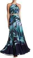 Phoebe Floral Halter Dress