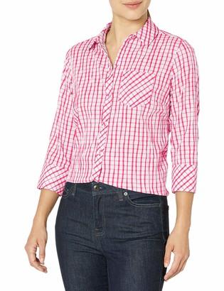 Foxcroft Women's Petite Button Up