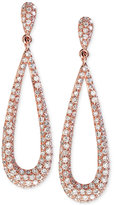Effy Diamond Drop Earrings (1-1/4 ct. t.w.) in 14k Rose Gold