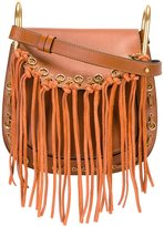Chloé 'Hudson' fringed shoulder bag - women - Calf Leather/Calf Suede - One Size