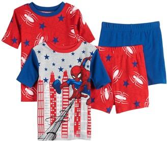 Spiderman Boys 4-10 Brave Spider 4-pc. Pajama Set