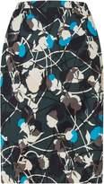 Jigsaw Floral Thistle Pencil Skirt