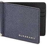 Burberry Quillen Saffiano Leather Bifold Wallet