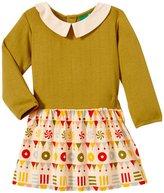 Little Green Radicals Grandma's Sweets Dress (Baby) - Green-9-12 Months