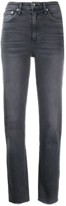 Rag & Bone Nina high-rise straight-leg jeans