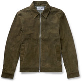 Officine Generale Leo Slim-Fit Suede Jacket