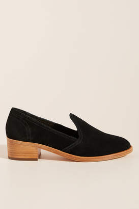 Soludos Sophia Block-Heeled Loafers