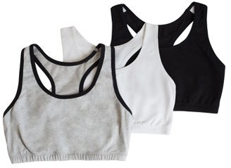 Fruit of the Loom Womens Tank Style Sports Bra 3-Pack, Style 9012
