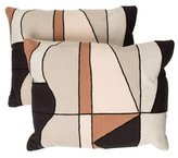Kelly Wearstler Cloud Bluff Throw Pillows w/ Tags