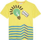Fendi Lightbulb Cotton T-shirt 4-14 Years