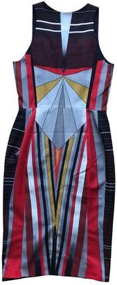 Jonathan Saunders Black Wool Dresses