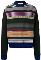 James Long striped sweatshirt - men - Cotton/Acrylic/Polyester/Viscose - M