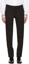 Paul Smith Black Wool Trousers