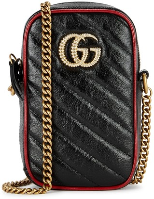 Gucci GG Marmont mini leather cross-body bag