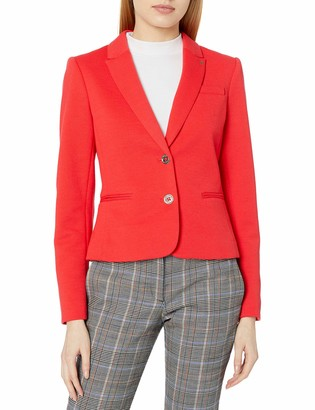 Tommy Hilfiger Women's Pique Knit Two Button Blazer