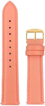 Hurtig Lane Coral & Gold Vegan Leather Strap 20Mm