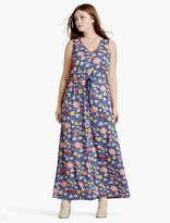 Lucky Brand Batik Floral Dress
