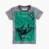 J.Crew Boys' glow-in-the-dark soccer T-shirt in the softest jersey