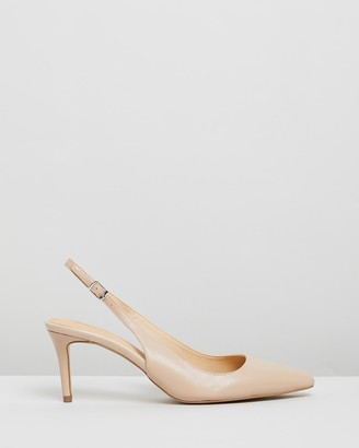 Siren Women's Nude Mid-low heels - Burlesque - Size One Size, 39 at The Iconic