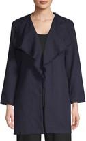 Karl Lagerfeld Paris Textured Tweed Coat