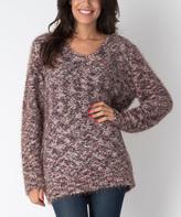 Yuka Paris Brown Mina Dolman Sweater
