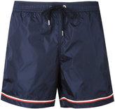 Moncler striped trim swimming trunks - men - Polyamide/Polyester - S