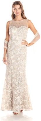 Ignite Women's Illusion Top Sutash Bodice Dress