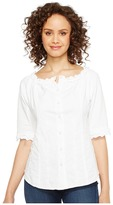 Scully Cantina Carissa 3/4 Sleeve Top Women's Clothing