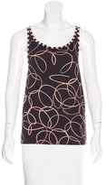 See by Chloe Sleeveless Abstract Print Top w/ Tags