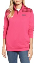 Vineyard Vines Women's Buffalo Check Classic Shep Pullover