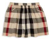 Burberry Toddler's, Little Girl's & Girl's Ruched Check Skirt